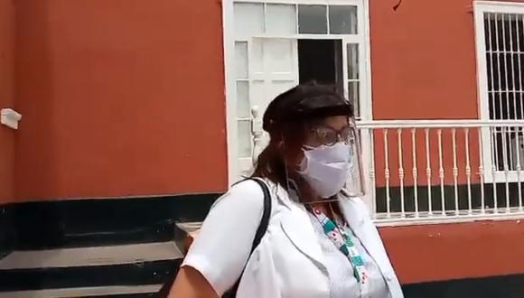 Ana Burga, jefa de epidemiología de la Gerencia Regional de Salud, señaló que nueva variante es muy agresiva y contagiosa. (Foto Captura: Trujillo 60)
