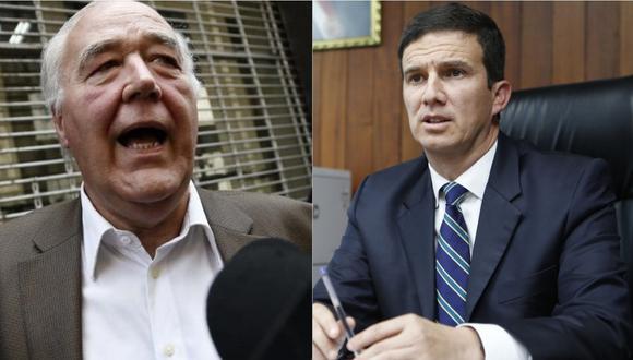 Víctor García Belaunde cuestionó al ministro de Energía y Minas, Miguel Incháustegui. | Foto: Composición.