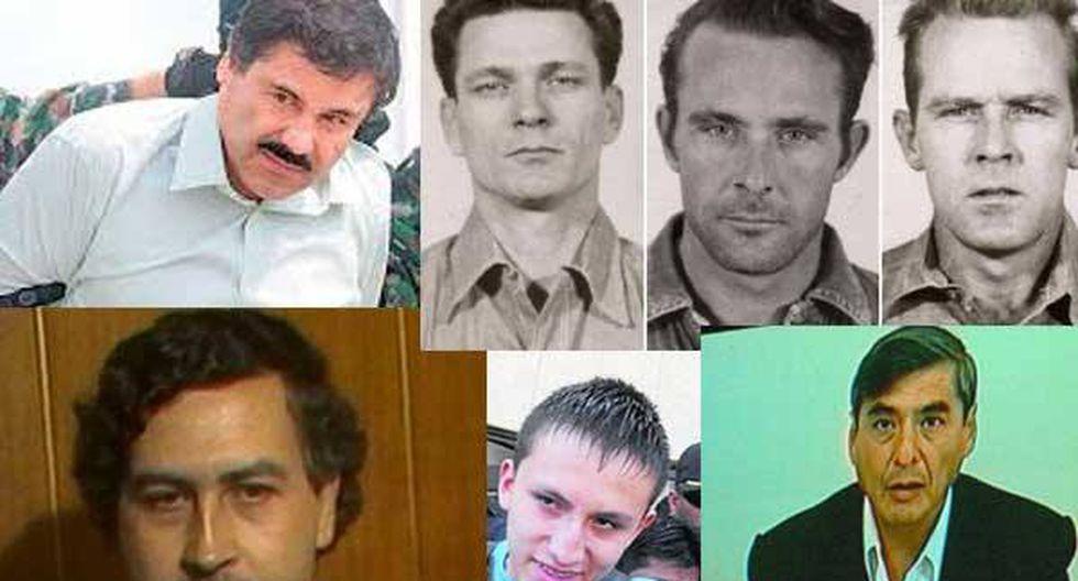 'Chapo' Guzmán y las fugas más famosas