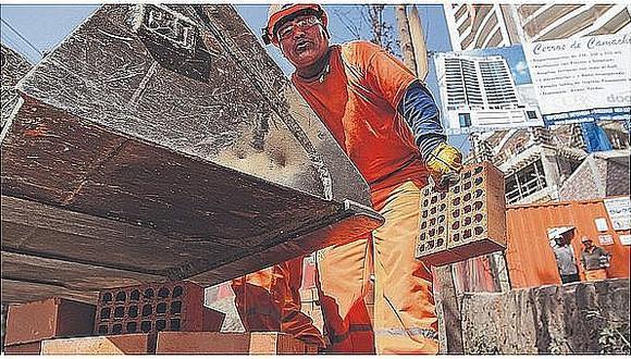 Consumo interno de cemento creció en casi 5% en setiembre