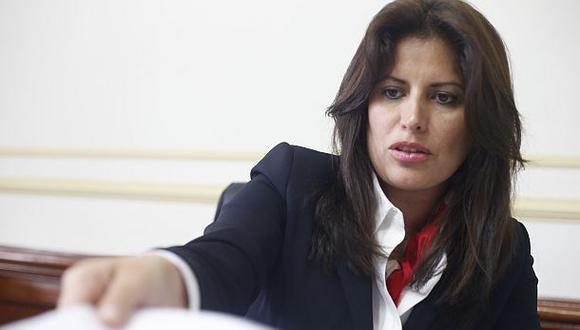 La congresista Carmen Omonte negó que su voto el pasado lunes haya sido condicionado. (Foto: Dante Piaggio)