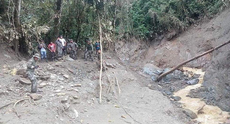 Encuentran restos de tres personas desaparecidas en el huaico de Carpish