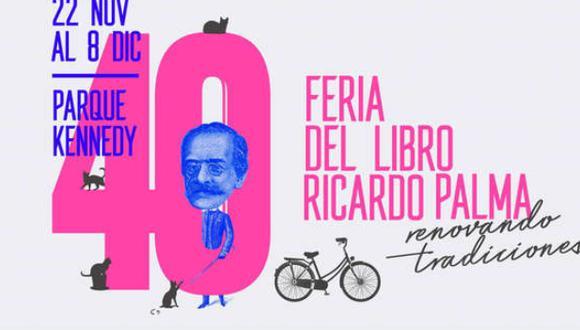 Feria Ricardo Palma: Conoce qué autores y libros se presentan en el último día del evento