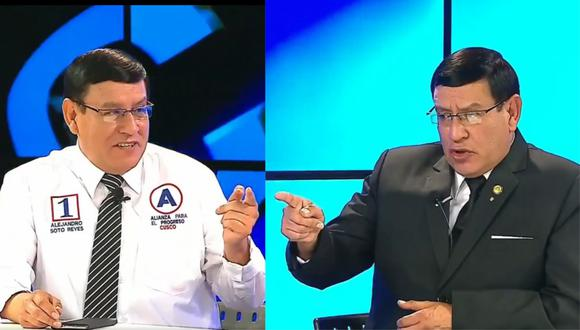 Candidato al Congreso entrevistándose a sí mismo. | Foto: Ronda Política.