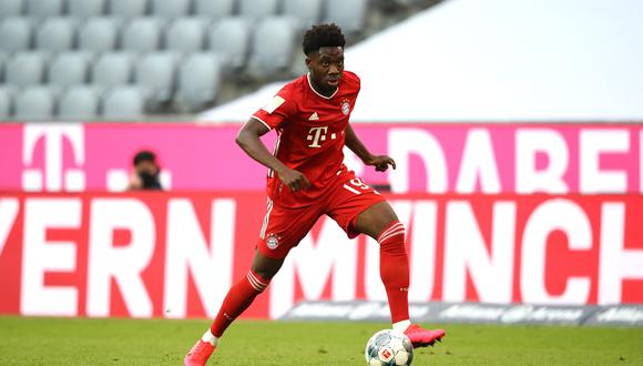 Alphonso Davies llegó a Bayern Munich en la temporada 2018/19. (Foto: EFE)