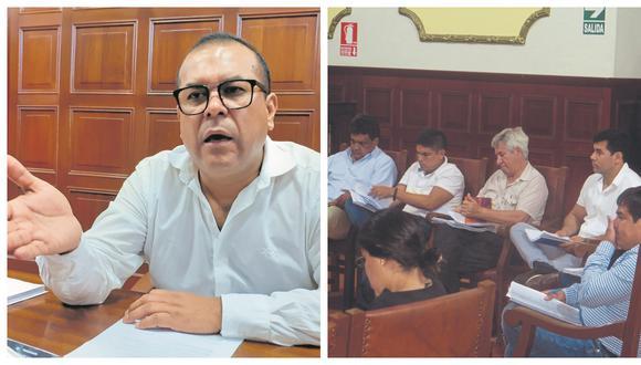 Seis regidores se unieron para exigir información transparente sobre una transferencia de dinero para el mejoramiento de los espacios públicos de la ciudad por la emergencia.