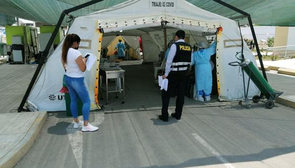 Tres policías internados al contagiarse del COVID-19 en Chincha