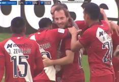 El gol de Hernán Novick para el 1-0 de Universitario vs. UTC en el Iván Elías Moreno (VIDEO)