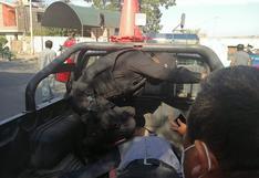 Ica: Policía muere en accidente de transito entre una mototaxi y moto lineal