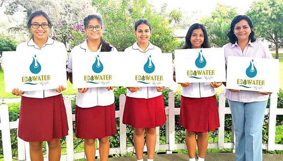 Piura: Alumnas ganan concurso por crear filtro para agua hecho de bambú y pino
