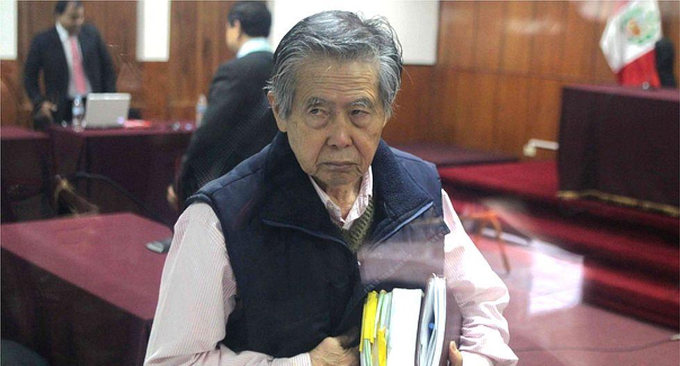 Fiscal pide que Incor revise estado de salud de Alberto Fujimori