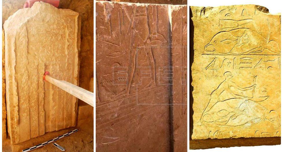 Egipto: Expertos descubren una tumba de la época faraónica en las afueras de El Cairo