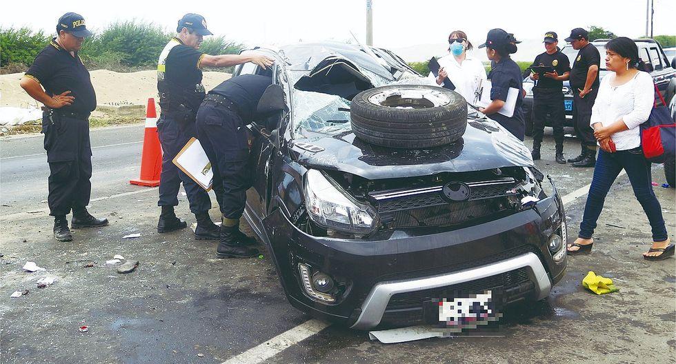 195 personas perdieron la vida en accidentes de tránsito en las carreteras de la región