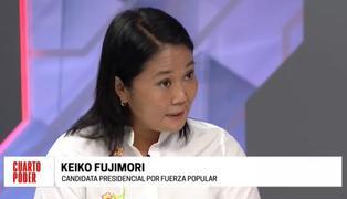"""Keiko Fujimori sobre resultados Ipsos: """"Finalmente las cifras y las tendencias empiezan a moverse"""" (VIDEO)"""