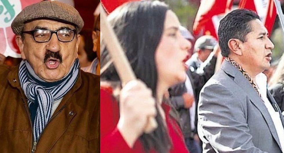 """""""Que asco"""": Fernández Chacón cuestiona alianza de Nuevo Perú con partido de Vladimir Cerrón"""