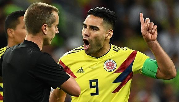 """Radamel Falcao arremete contra el árbitro: """"Ante la duda siempre cobró para Inglaterra"""""""