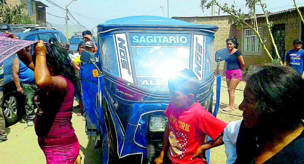 Un mototaxista es acribillado en el distrito El Porvenir