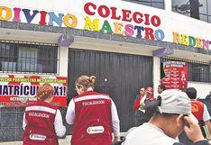 Minedu dispuso el cierre de 264 falsos colegios en la capital