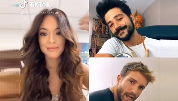 Jazmín Pinedo sorprende al cantar con Pablo Alborán y Camilo Echevarría en Tik Tok