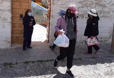 Madres en contra de desactivar Qali Warma en Huancavelica