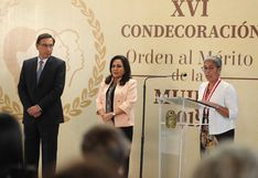 """Alejandrina Córdova Casalino es condecorada con la """"Orden al Mérito de la Mujer 2019"""""""