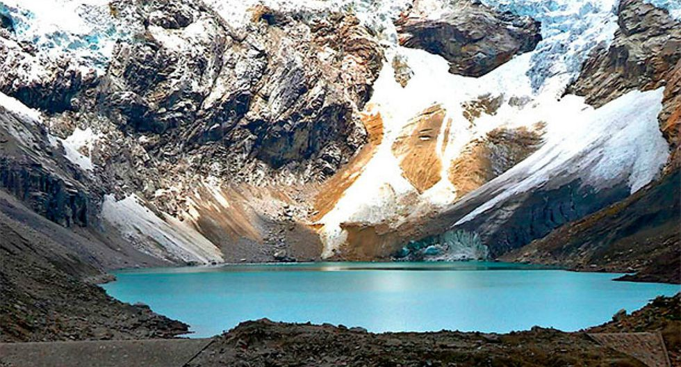 Instalan cámara en laguna Palcacocha para registrar desborde de glaciares