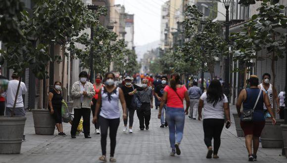 El ministro del Interior, Gastón Rodríguez, indicó que depende de los ciudadanos adoptar medidas preventivas para evitar los contagios de COVID-19 . (Fotos Diana Marcelo / GEC)