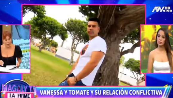 Vanessa López aseguró que Carlos Barraza le ha mandado cartas notariales a ella y su familia. (Foto: Captura de video)