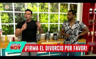 Christian Domínguez reveló que su exesposa no firma el divorcio hace 22 años y que le pidieron dinero por acabar el trámite (VIDEO)