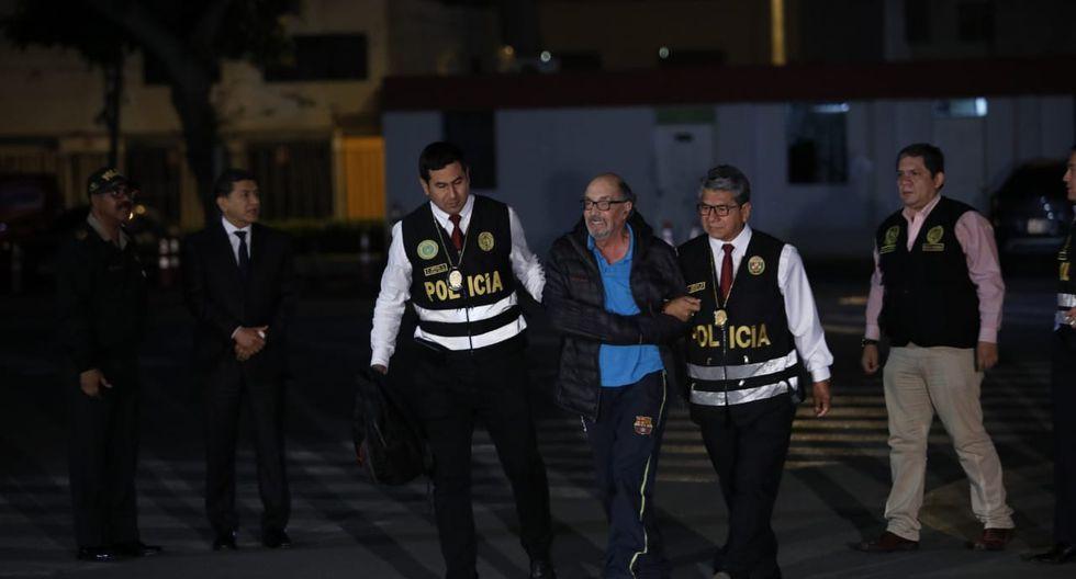Actualmente está internado en el penal Miguel Castro Castro, en San Juan de Lurigancho, donde cumple una sentencia de 5 años de cárcel por el caso Gasolinazo. (Foto: José Rojas/GEC)