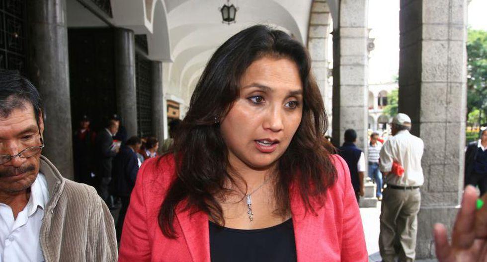 Gana Perú presenta a Solórzano como candidata a la presidencia del Congreso