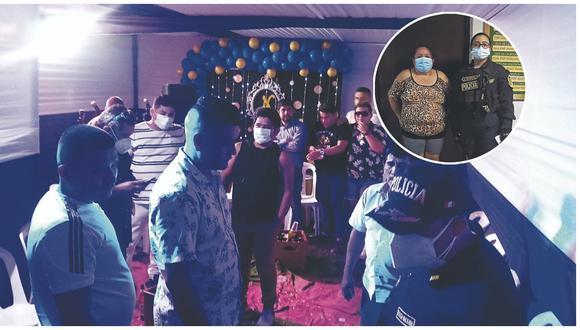 Policía allana locales donde celebraban bailes amenizados por conocidas orquestas sin las medidas de seguridad.