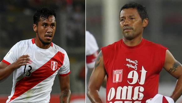 Recordemos que, Tapia arremetió contra el 'Chorri' Palacios tras empate con Uruguay. Foto: Andina/composición