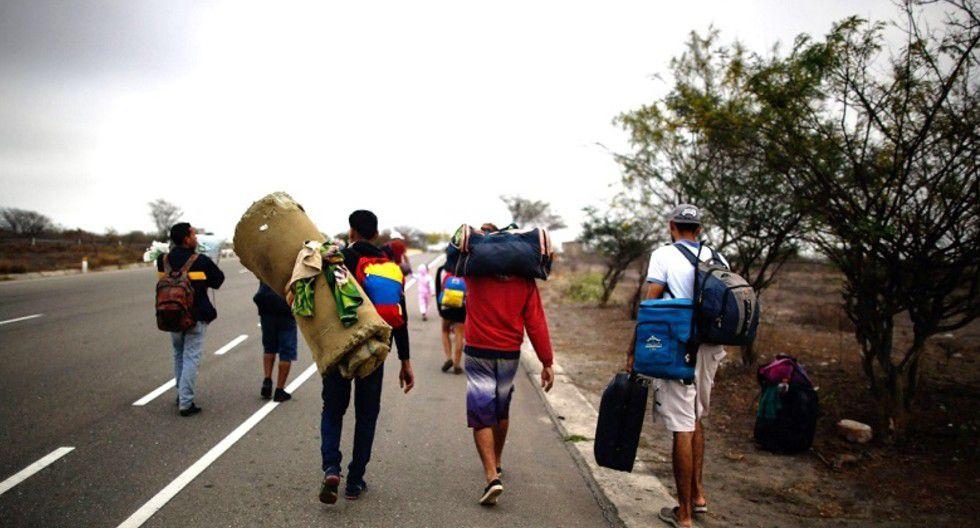 Piura: Extranjeros procedentes de Ecuador estarían ingresando por frontera montañosa con Sullana.