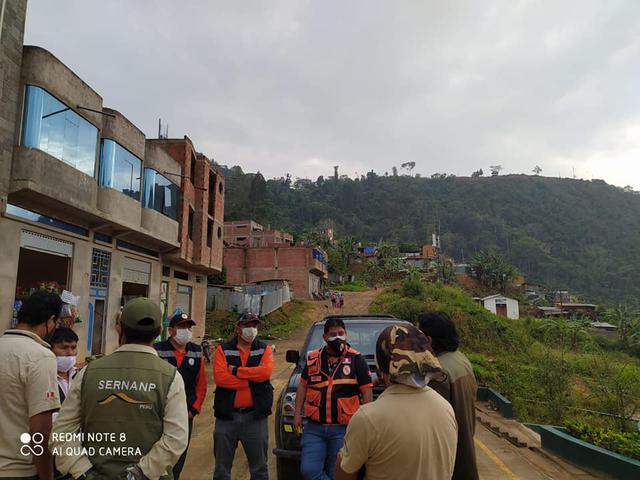 Brigadas han venido realizando trabajos para controlar los incendios forestales.