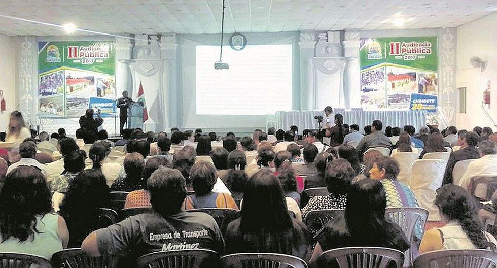 Audiencia de rendición del GRA bajo la lupa de Fiscalía