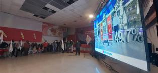 Así se vivió el flash electoral en el local de Perú Libre, en Cusco (VIDEO)