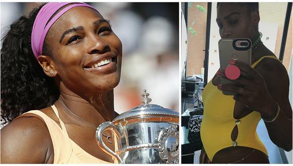 Tenista Serena Williams está embarazada y espera su primer hijo