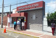 Fiscalía abre investigación preliminar contra alcalde de Tacna y funcionarios