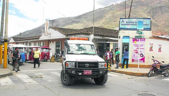 Exigen reorganizar el hospital regional Hermilio Valdizán