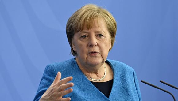 La canciller de Alemania Angela Merkel. (Foto: John MACDOUGALL / POOL / AFP).