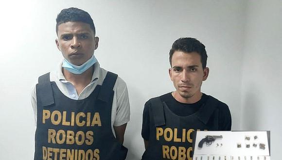 Policía de la Dirincri atrapó a venezolanos. ( GEC)