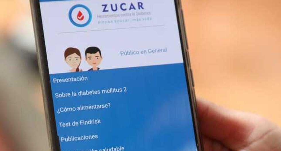 Aplicativo gratuito 'Zucar' ayuda a prevenir y controlar la diabetes