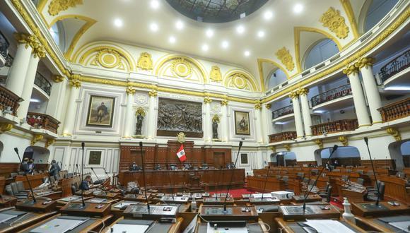 Este viernes 23 de julio se llevará a cabo, en el hemiciclo del Poder Legislativo, la juramentación e incorporación de los congresistas electos para el periodo 2021-2026. (Foto: GEC)