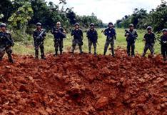 Destruyen cuatro pistas de aterrizaje clandestinas empleadas por el narcotráfico en Huánuco y Pasco
