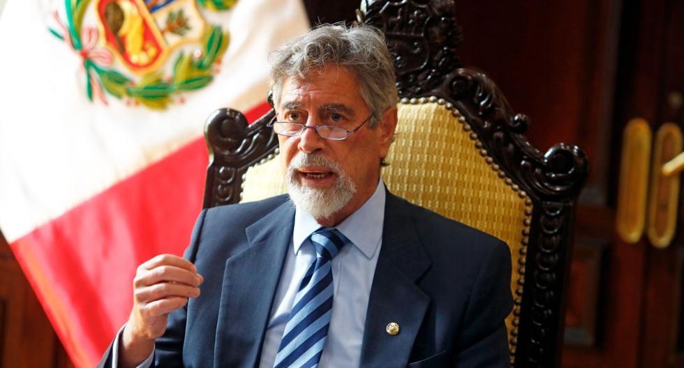 Francisco Sagasti: durante los próximos meses la relación entre el Congreso y el Ejecutivo sea lo más fluida