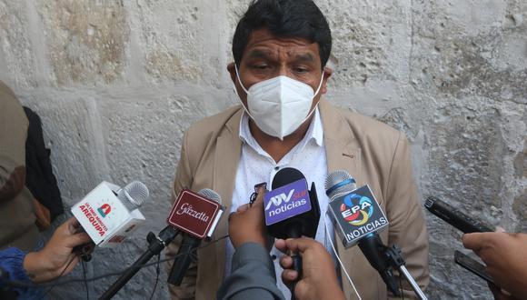 El secretario denunció a directora de la UGEL por atentar contra la vida de los docentes| Foto: Eduardo Barreda