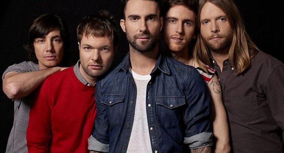 Gira en Latinoamérica de Maroon 5 no incluye Perú