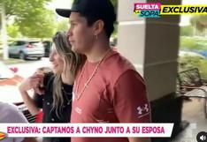Chyno Miranda y Natasha son captados juntos en Miami en medio de rumores de separación (VIDEO)