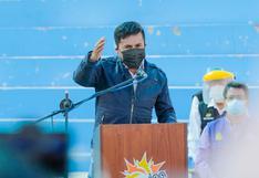 Gobernador de Arequipa se opone a cerco epidemiológico de 21 días